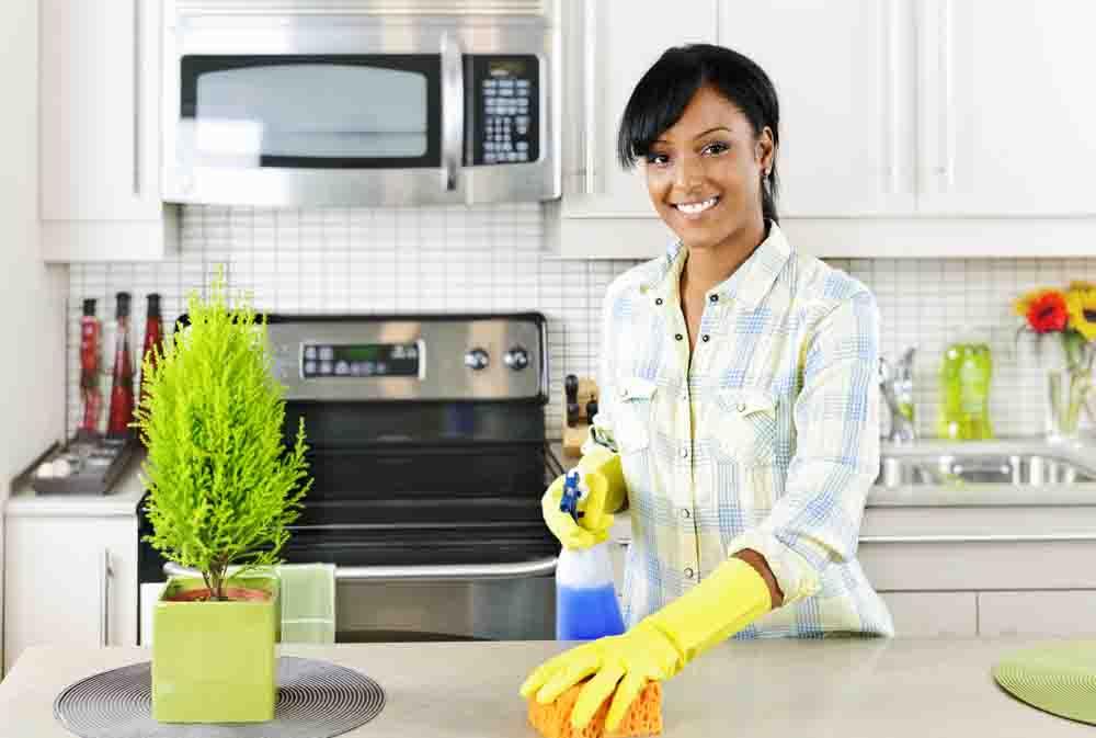 how to shine granite countertops