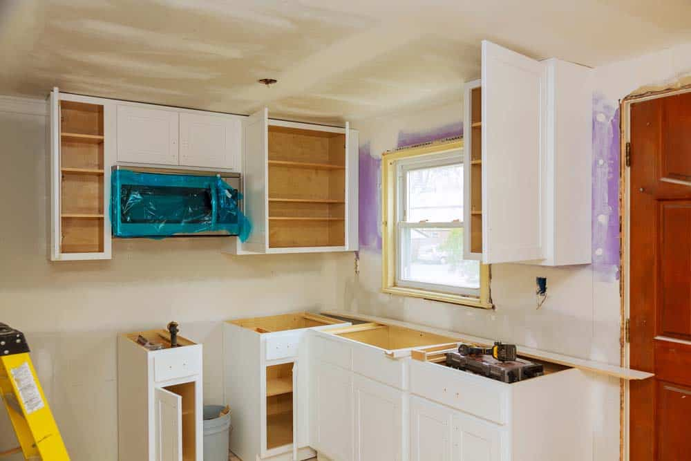 removing granite countertops