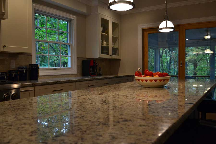 what are granite counter top image 1