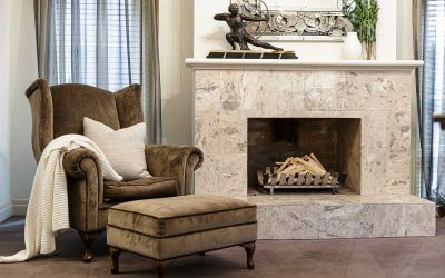 Best Stones For a Fireplace Surround