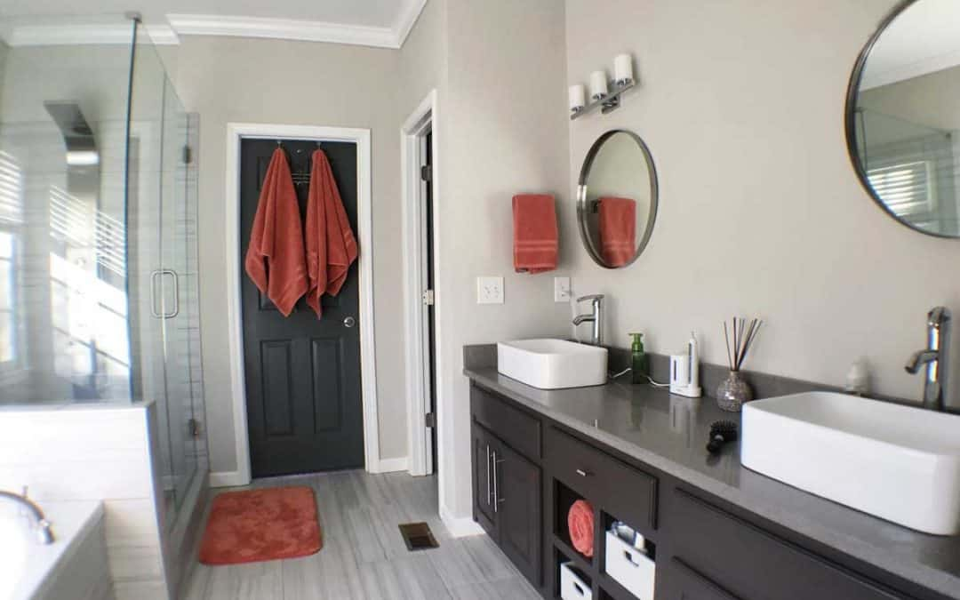 stone bathroom countertops