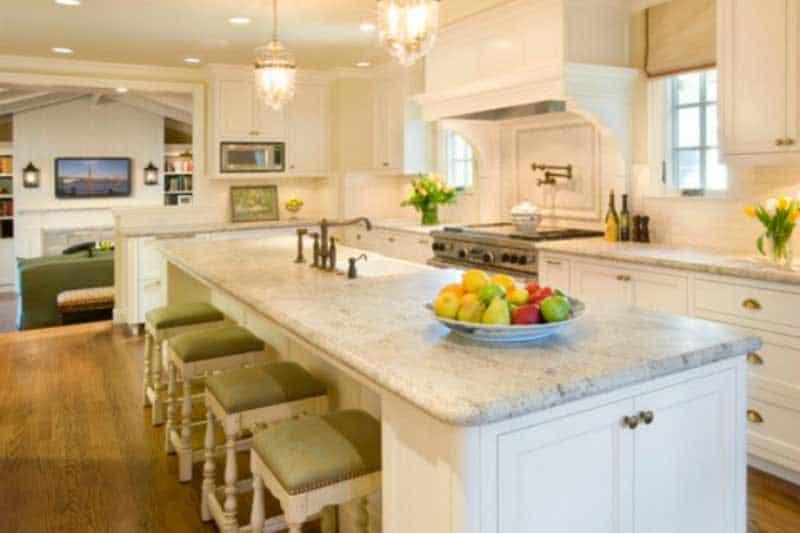 kashmir white granite counters